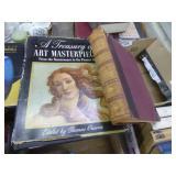 Art & history vintage books