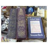 2 volumes Gourmet & Julia Child