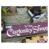 Vintage Curiosity sign (Wisc Dells)