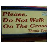 """Painted sign - 12"""" x 24"""""""