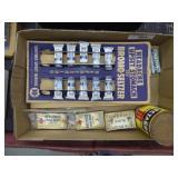 Vintage medicines & cleanser can