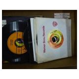 45 rpm records: Beatles & others