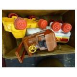 Plastic Viking Toys Shell tanker - plastic forklif