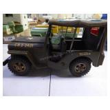 Vintage Tonka Army Jeep