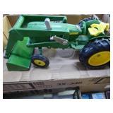 Toy metal John Deere tractor
