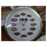 Ford clock & button
