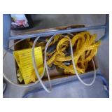 Pull ropes, cable lock & chock