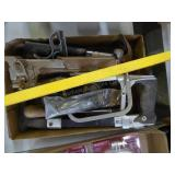 Level, saws & other tools