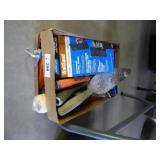 2 boxes painting & caulking items