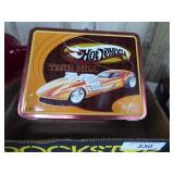Vintage Hot Wheels Thermos lunch box