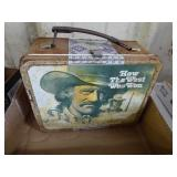 Vintage How The West Was Won Thermos lunch box