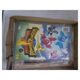2 Power Rangers comics & 1 Mad Magazine