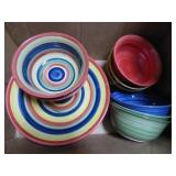 Swirl dishes - some surface wear