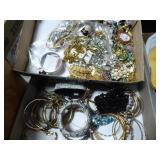 2 boxes jewelry