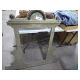 Antique frame for dresser mirror (incomplete)