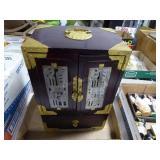 "Chinese jewelry box 12"" x 8"" x 6"""