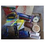 Box misc. office items