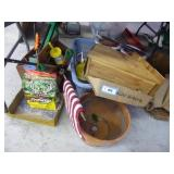 Lot of garden/outdoor items