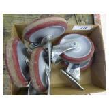5 caster wheels