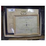Liberty powder & Dumont certificates