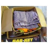 2 boxes textiles