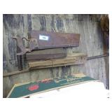 Pry bar, saw & other