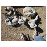 Concrete yard art