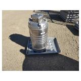 Stainless steel insulated container & trays