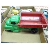 Vintage plastic Lumar coal truck