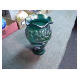 Fenton designer showcase series painted vase - sig