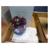 Fenton limited honor 435/2500 vase - signed