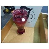 Fenton spiral vase