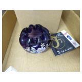 Fenton rose bowl - signed