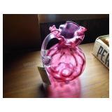 Fenton country cranberry pitcher - NO box