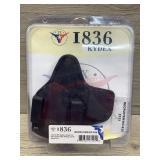 Hybrid IWB kydex holster for Springfield XDS with