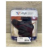 Kydex/leather S&W shield .45 right handed holster