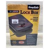 Snap safe XLarge lock box keyed