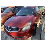 2009 NISSAN ALTIMA RED