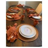 DINNERWARE W/PLACEMATS