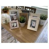 ASST PICTURE FRAMES & GREENERY