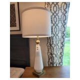 WHITE & GOLD LAMPS