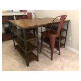 CRAFT TABLE & 2 CHAIRS