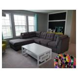 GREY SECTIONAL FURNITURE