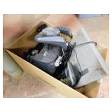 Box of gaming pieces: Pro Pedals, PPU 995 -