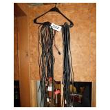 Large lot of electronic cords