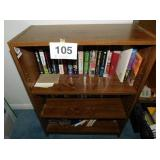 "Bookcase, 31"" x 24"" x 11"" - 3 shelves of"