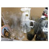 NRA beer glasses - glass stein NRA - Ruger smokey