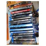 Stack of Blu-Ray & DVD