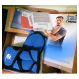 Workout items: Tai Cheng CD & book - weighted