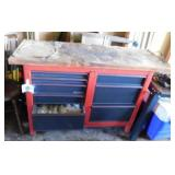"Craftsman tool chest, 44""W x 18""D x 33""H"